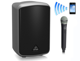 100 Watt Battery Powered Speaker And Wireless Mic For Ceremonies Speeches Background Music Can Also Plug In Your IPod Laptop Guitar Keys